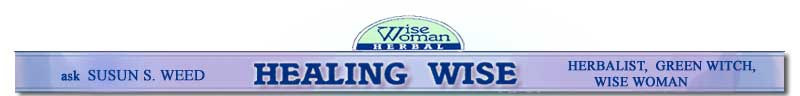 Healing Wise- Susun Weed Herbal Advice